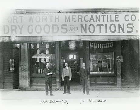 Fort Worth Mercantile Company, undated
