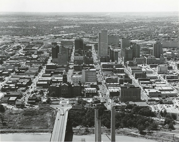 Downtown Fort Worth, 1957