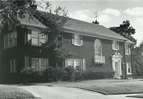 Morgan House, 619 Rivercrest Road, 1980