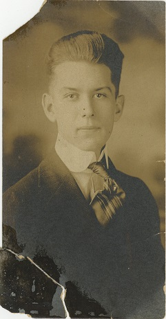 Uncle Amos, a member of the Basham family, undated