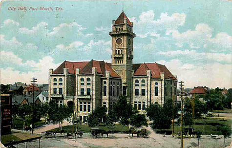 Fort Worth City Hall 1916