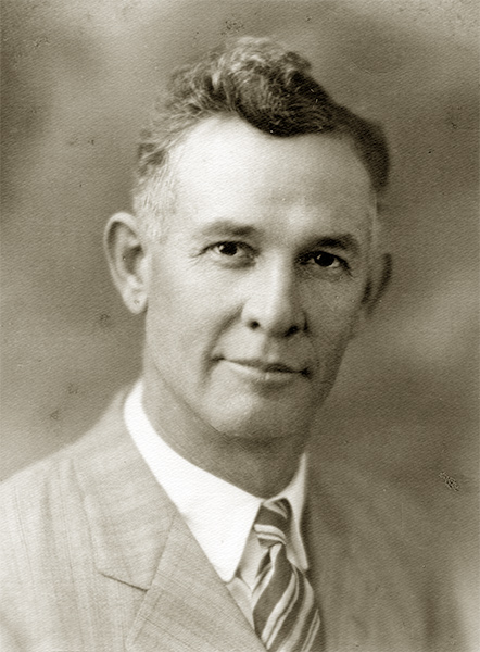 Commissioner Frank Estil, 1931. Click to view larger image