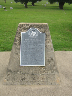 Everman Cemetery Marker