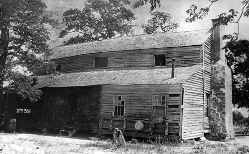 Foster Cabin in 1968