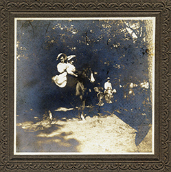 Girls on Horse, unknown donor