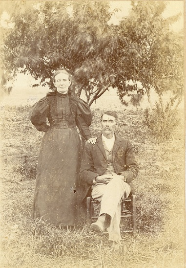 S. L. Reese and wife, ca. 1900