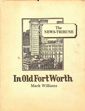 In Old Fort Worth book cover