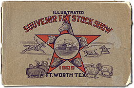 Fort Worth Stock Show 1908 Program