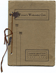 WWC 1901 Yearbook Cover