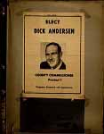 Elect Dick Anderson 1960-1980 Cover Page