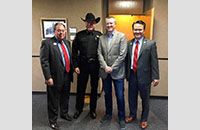 Judge Whitley - Sheriff Waybourn - Michael Klein - Commissioner Nguyen