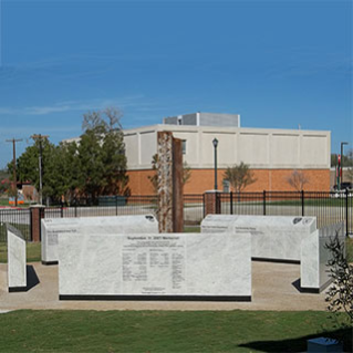 Kennedale 9-11 Memorial ground level