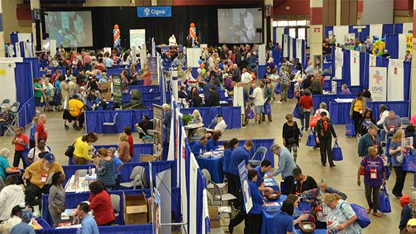 Expo Hall overview photo