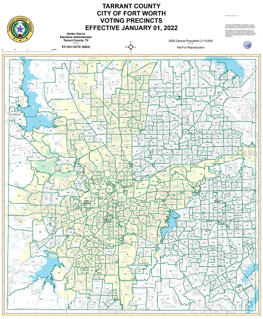 Texas Map Fort Worth City of Fort Worth Maps