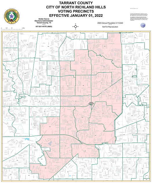 City of North Richland Hills Map