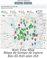 Wait Time Map