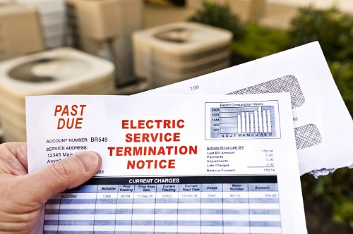 Electric Service Termination Notice - Past Due