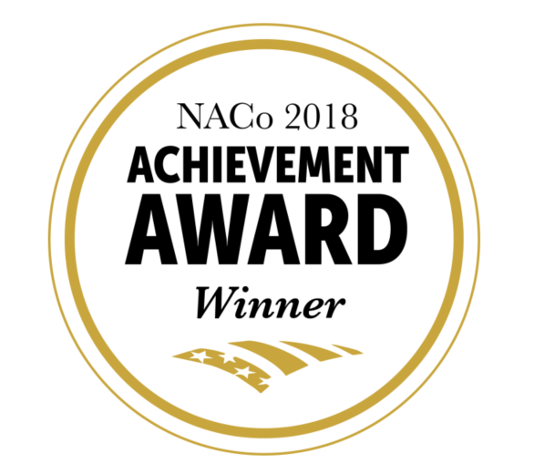 2018 NACo Achievement Award Logo