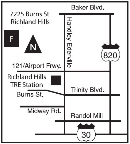 7225 Burns St map