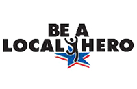 Be A Local Hero logo