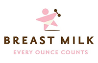 Breastmilk every ounce counts logo