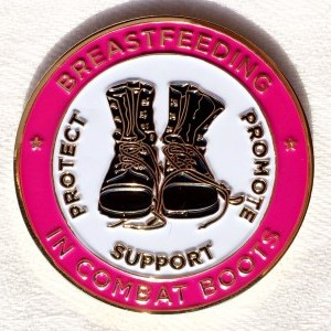 Breastfeeding In Combat Boots logo