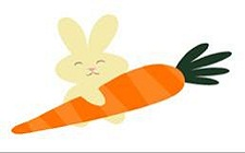 Carrot and rabbit