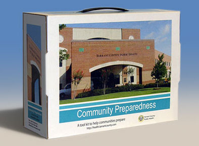 Tarrant County Preparedness Toolkit Box