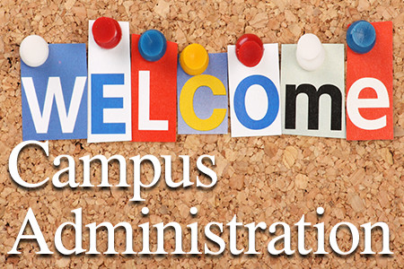 Welcome - Campus Adminsitration
