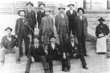 Sheriff staff in early 1900