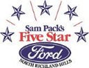 Sam Pack's Five Star Ford Logo