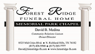 Forest Ridge Funeral Home Logo