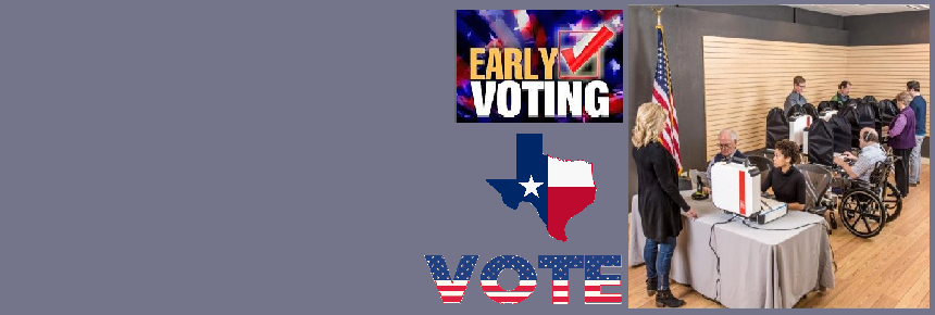 Early Voting in Person Information