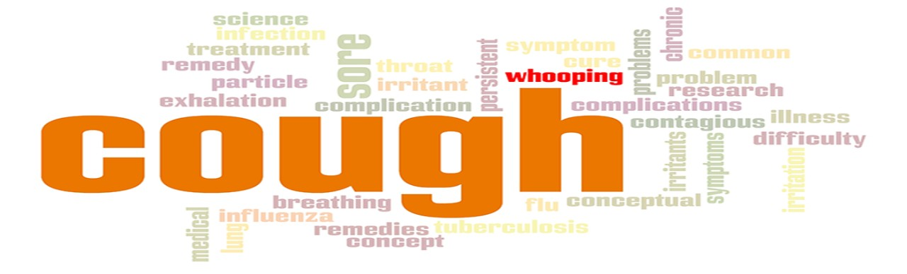 Whooping cough word cloud