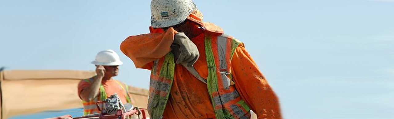construction workers, heat exhaustion