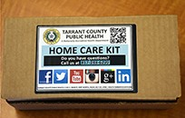 Zika home care kit - front