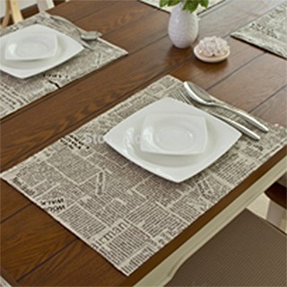 Place settings for a meal