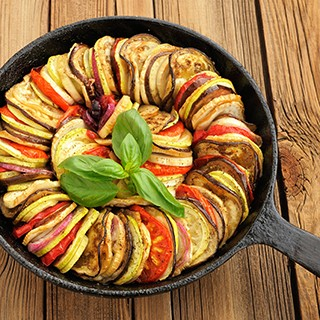 Yellow Squash with Onions and Tomatoes