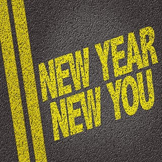 paint on street, New Year New You